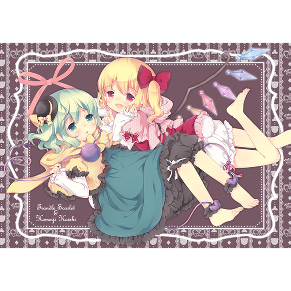 Doujinshi - Illustration book - Touhou Project / Remilia x Flandre (kumatetralyl) / kuma chocolate