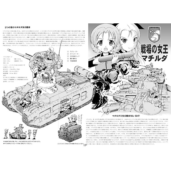 Doujinshi - GIRLS-und-PANZER / Orange Pekoe & Darjeeling (歩兵戦車チャーチルとマチルダ) / Operation Box