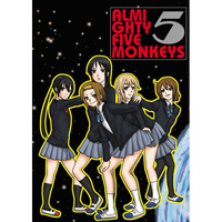 Doujinshi - K-ON! / Ritsu & Mio & All Characters (ALMIGHTY FIVE MONKEYS) / エイチェル