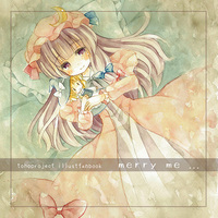 Doujinshi - Illustration book - Touhou Project / Marisa x Patchouli (merry me ...) / 幻葬教団