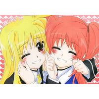 [Adult] Doujinshi - Magical Girl Lyrical Nanoha / Nanoha & Fate (sweet sweet time) / くりころ。