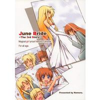 Doujinshi - Magical Girl Lyrical Nanoha / Nanoha & Fate (June Bride The 3rd Story) / Namuru.