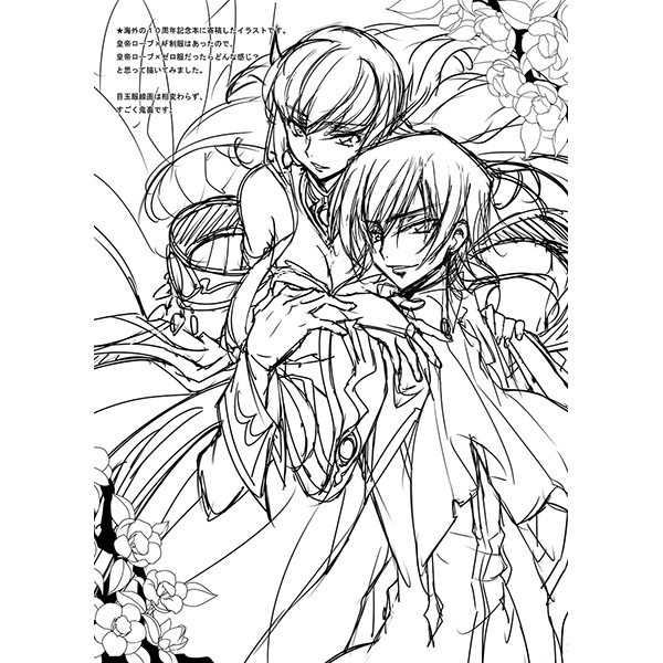 Doujinshi - Illustration book - Code Geass / Lelouch Lamperouge x C.C. (NOISE POLLUTION 2.5) / CREAYUS