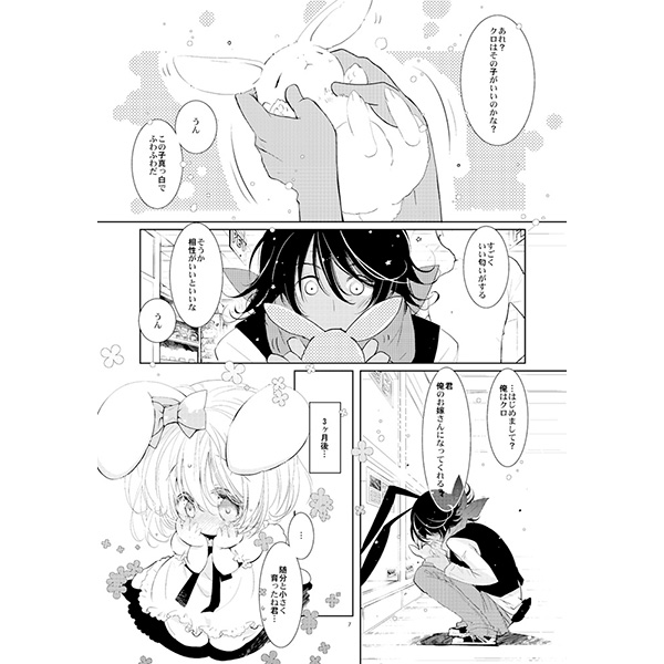 [Adult] Doujinshi - Compilation - BLACK AND WHITE RABBIT 総集編 / PINSIZE Inc.