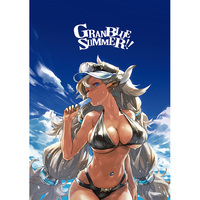 Doujinshi - Illustration book - IM@S: Cinderella Girls / Ranko & Enoshima & Ferry & Cagliostro (GRANBLUE SUMMER!!) / redjuicegraphics