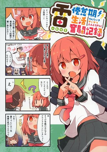 Doujinshi - Kantai Collection / Ikazuchi (Kan Colle) (雷倦怠期生活奮闘記録) / Ren-kon-an