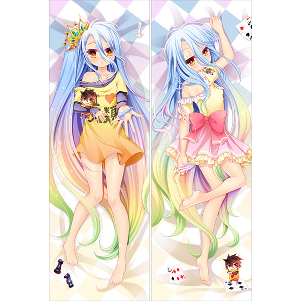 Dakimakura Cover - No Game, No Life / Shiro