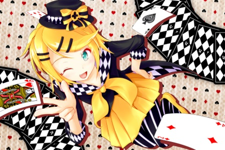 Doujinshi - Illustration book - Anthology - VOCALOID / Rin & Len (めぞふぉるて) / ガラスの猫