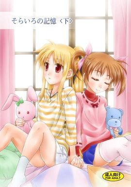 [Adult] Doujinshi - Magical Girl Lyrical Nanoha / Nanoha & Fate (そらいろの記憶 <下>) / SimpleClass