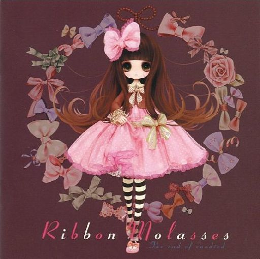 Doujinshi - Illustration book - Ribbon Molasses / Cream rose tea