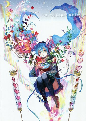 Doujinshi - Illustration book - VOCALOID / Hatsune Miku (THE VOCALOID ~IRODORI~) / Our Music