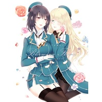 Doujinshi - Anthology - Kantai Collection / Atago & Takao & Ooi (愛宕×高雄アンソロジー「Blooming Flower」) / 百合=18L