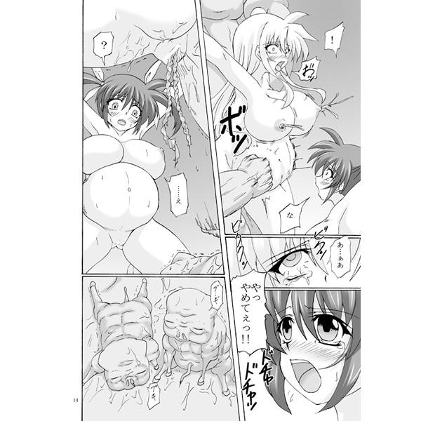 [Adult] Doujinshi - Magical Girl Lyrical Nanoha / Nanoha & Fate (Capture Girl N) / Nejimaki Kougen