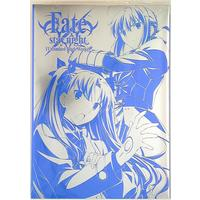 Doujinshi - Illustration book - Fate/stay night / Rin & Saber (Fate/stay night[UBW]2ndシーズン原画集 上巻 限定カバー付 上) / ユーフォーテーブル