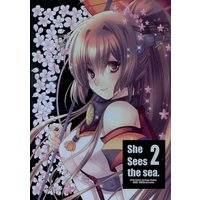 Doujinshi - Illustration book - Kantai Collection / Yamato & Ikazuchi (She sees the sea.2) / Kogekoge House