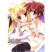 [Adult] Doujinshi - Magical Girl Lyrical Nanoha / Nanoha & Fate (each other 魔法少女1st抱き枕カバー特典Ver.) / イラストゲリラ 抱き枕プロジェクト