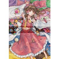 Doujinshi - Illustration book - Touhou Project / Hakurei Reimu (NEON COLORS) / Asdeon bolt