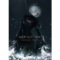 Doujinshi - Illustration book - NieR: Automata / 2B & 9S & A2 (NieR:Automata marumoru's fanart book) / Blue apple