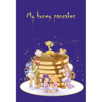 Doujinshi - HappinessCharge Precure! / Omori Yuko x Shirayuki Hime (My honey pancakes) / どせいドーナツ