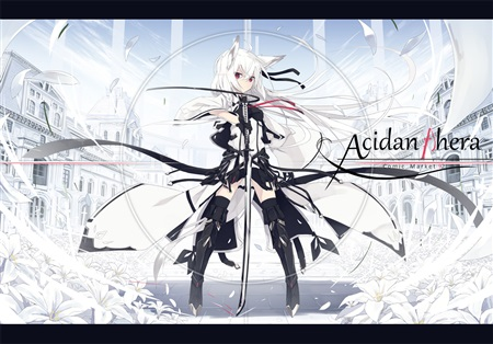 Doujinshi - Illustration book - Acidanthera / white parabellum