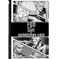 Doujinshi - Illustration book - Fate/Grand Order / Saint George & Edward Teach (FGO×Suit×sometime cats) / かえるの都