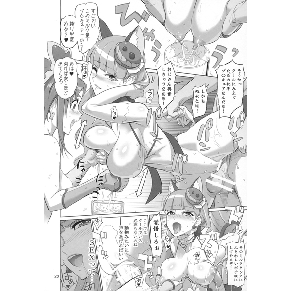[Adult] Doujinshi - PreCure Series (PRETTYUNKNOWN'S BATTLEGROUNDS) / Digital Accel Works