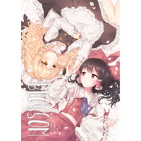 Doujinshi - Illustration book - Touhou Project / Reimu & Marisa (BLOSSOM) / somnia