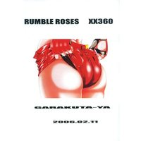 [Adult] Doujinshi - Illustration book - RUMBLE ROSES (【コピー誌】RUMBLE ROSES XX360) / Garakutaya