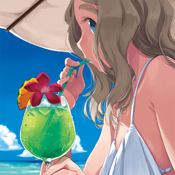 Doujinshi - Illustration book - SECRET BEACH Chibicco-chan in Summer / 13461