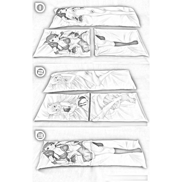 Dakimakura Cover - Kantai Collection / I-26 (Kan Colle)