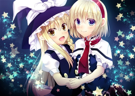 Doujinshi - Illustration book - Touhou Project / Marisa & Alice (MARIALI COLLECTION) / Memory Line