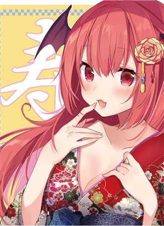 Doujinshi - Illustration book - Touhou Project / Koishi & Koakuma (KOAKUMA.zip) / 月曜猫