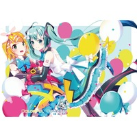 Doujinshi - Illustration book - VOCALOID / Rin & Yukari & Miku (colorful confetti) / もものかんづめ