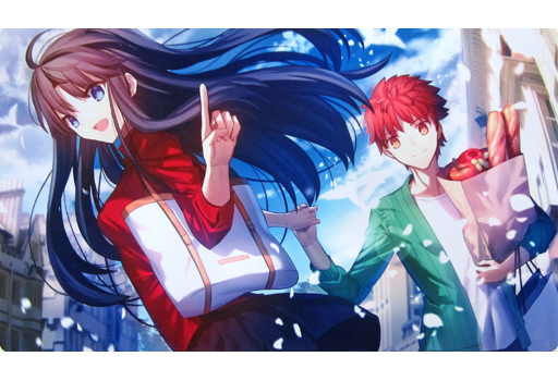 Card Sleeves - Fate/stay night / Shirou & Rin