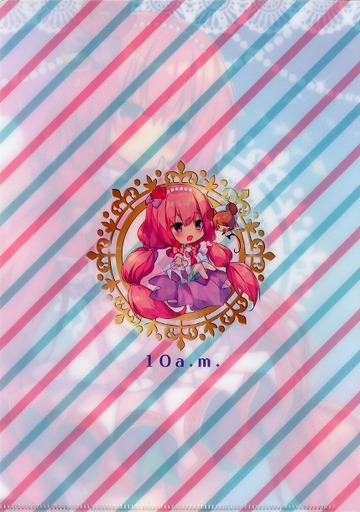 Plastic Folder - FLOWER KNIGHT GIRL / Lotus