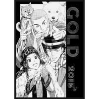 Doujinshi - Illustration book - Golden Kamuy / Asirpa & Sugimoto & All Characters (GOLD) / 猟犬注意
