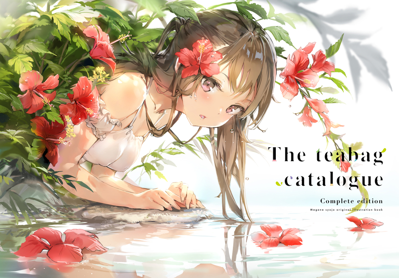 Doujinshi - Illustration book - the teabag catalogue complete edition / メガネ少女 (Megane Shoujo)