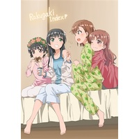 Doujinshi - Illustration book - Toaru Kagaku no Railgun / Mikoto & Saten & Index & Kamijou (Rakugaki INDEX!) / もこのーと