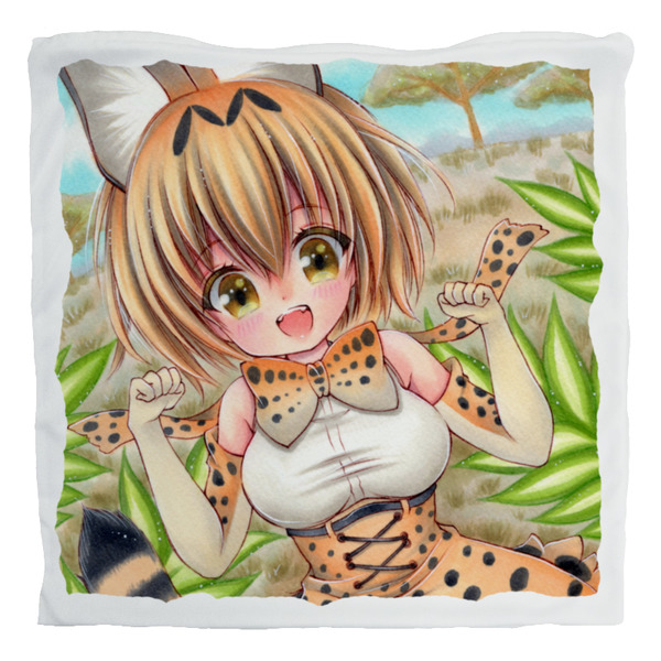 [Adult] Cushion Cover - Kemono Friends / Serval & Margay