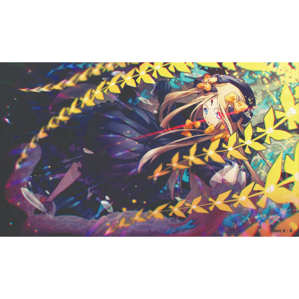 Card Game Playmat - Fate/Grand Order / Abigail Williams (Fate Series)