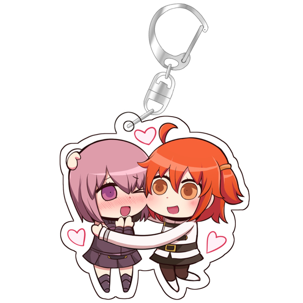 Key Chain - Fate/Grand Order / Mash & Gudako