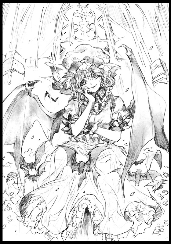 Doujinshi - Illustration book - Touhou Project / Remilia & Alice (ROUGH MANIAX 2) / Shounen Shoujo tai