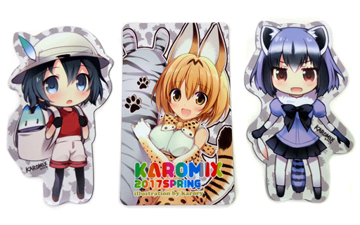 Magnet - Kemono Friends / Serval & Kaban & Common Raccoon