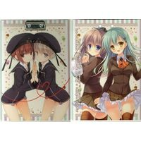 Clip Board - Kantai Collection / Suzuya & Kumano & Z1 (Leberecht Maass) & Z3 (Max Schultz)