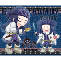Mouse Pad - Golden Kamuy / Asirpa