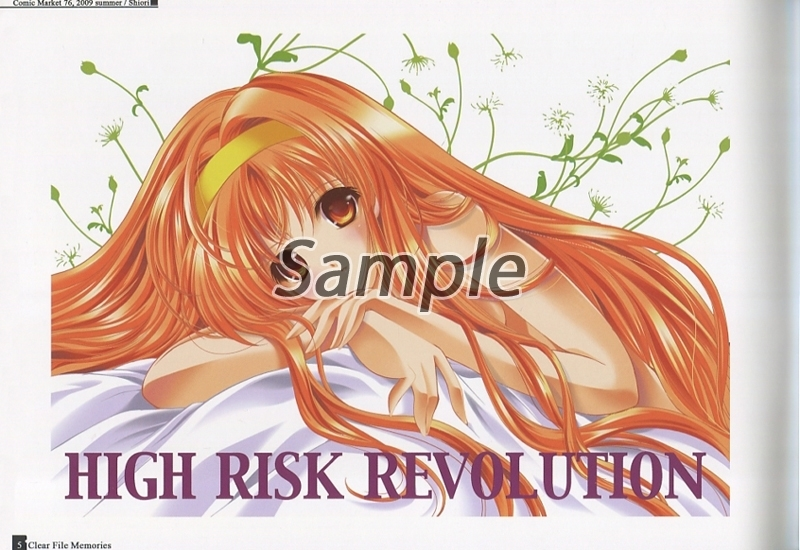 Doujinshi - Illustration book - CLEAR FILE MEMORIES FROM 2001-2012 / HIGH RISK REVOLUTION