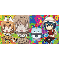 Cushion Cover - Kemono Friends / Serval & Kaban