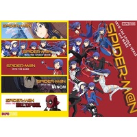 Doujinshi - IM@S / Chihaya & Deadpool (Fate Series) (SPIDER-M@N SPIDER-VERSE and MORE) / Bin1production