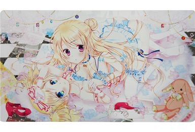 Card Game Playmat - Kiniro Mosaic / Alice Cartelet & Kujou Karen