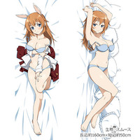 Dakimakura Cover - Strike Witches / Charlotte E. Yeager